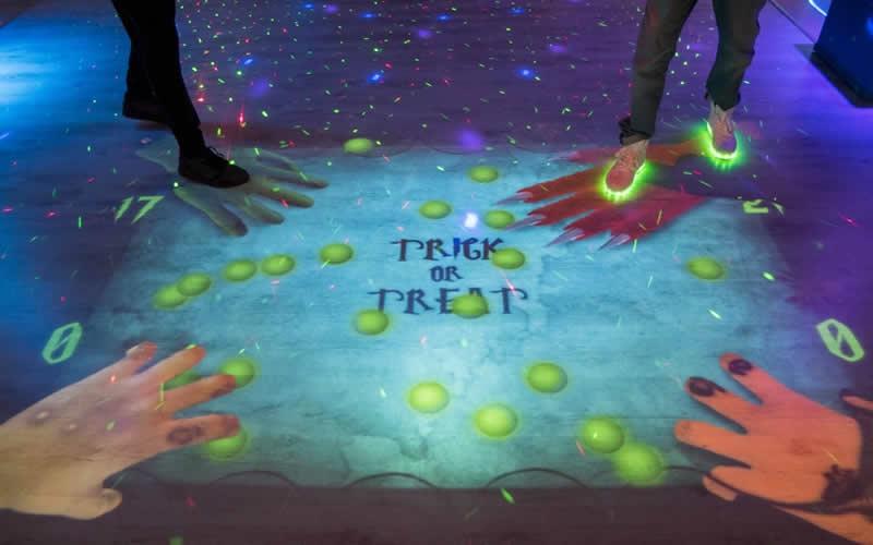 Podea interactiva zona Vitan - Tineretului